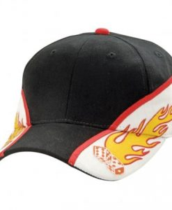 Flaming Dice Cap