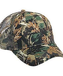 Six panel cotton twill camouflage cap (105-751)