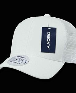 Curved peak trucker cap (1053)