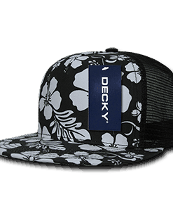 Floral five panel trucker (1068)
