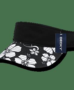 Floral polo visor (1074)