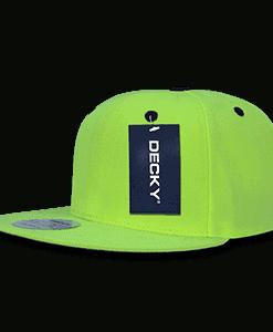 Neon acrylic snapback (1077)