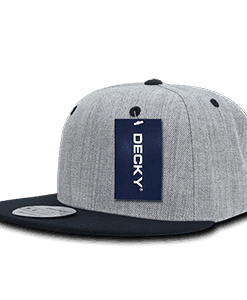 Heather grey snapback (1092)