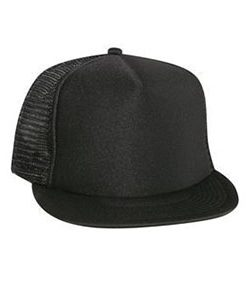 Five panel high crown golf mesh cap (132-1037)