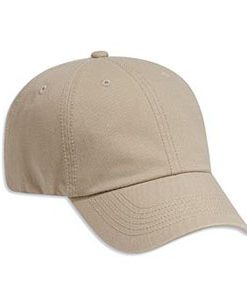Six panel deluxe washed cotton twill cap (18-692)