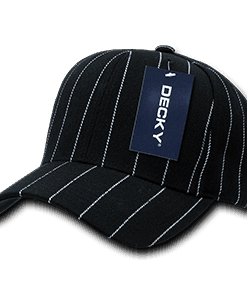 Pin stripe adjustable cap (208)