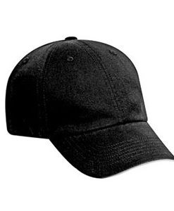 Six panel washed cotton twill cap (22-708)