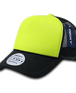 Two tone neon trucker cap (220)