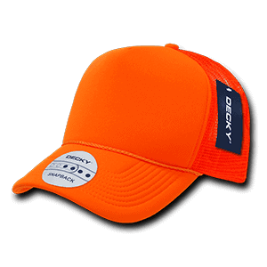 Solid colour neon trucker cap (221)