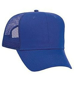Six panel promo cotton twill mesh back cap (30-1103)