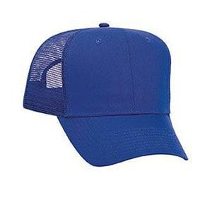 Six panel promo cotton twill mesh back cap (30-1103)