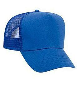Five panel promo cotton twill mesh back cap (32-1104)