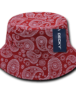 Paisley bucket hat (459)