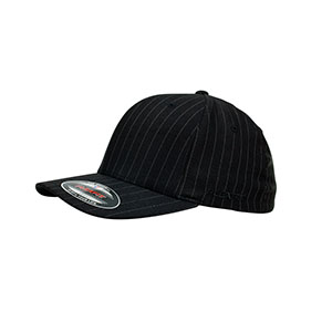 Flexfit Pinstripe Black-White