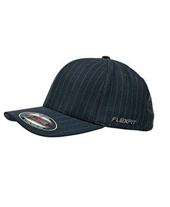 Flexfit Pinstripe Grey-White