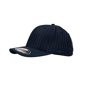 Flexfit Pinstripe Navy-White