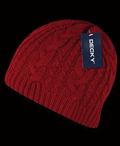 Braidy knit beanie (634)
