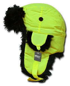 Neon aviator hat (778)