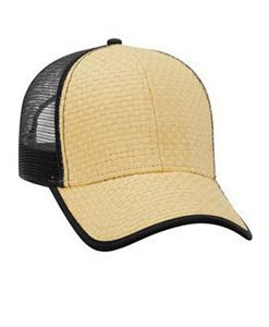 Toyo straw low profile mesh back cap (83-531)