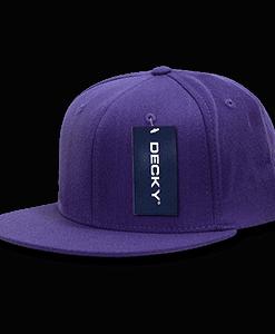 Flat peak flex cap (873)