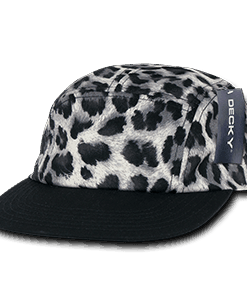 Animal print racer cap (986)